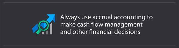 cash flow and accrual accounting