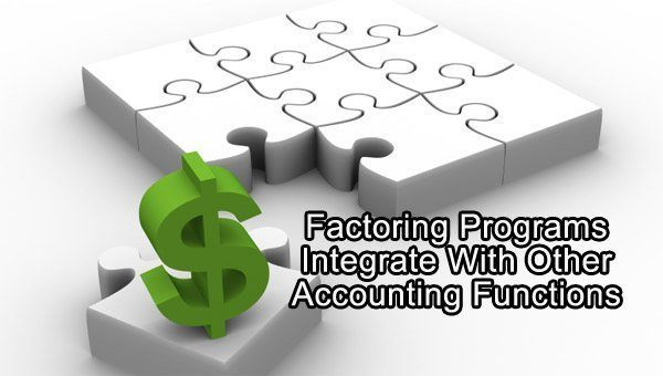 integration of factoring and accounting
