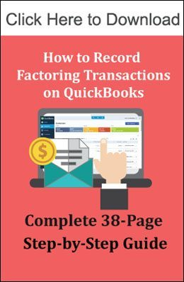 Invoice Factoring QuickBooks Accounting StepbyStep Guide - Factoring invoices in quickbooks