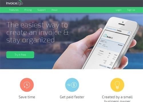 invoice2go application to manage invoices