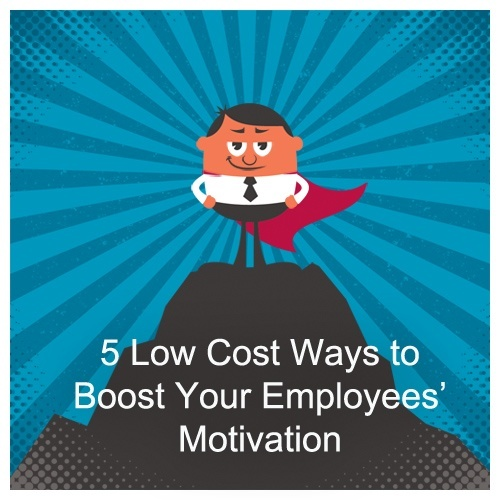 boost employees motivation
