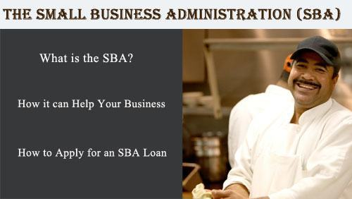 small business administration lending