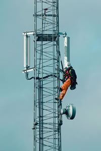 cell tower contractor factoring